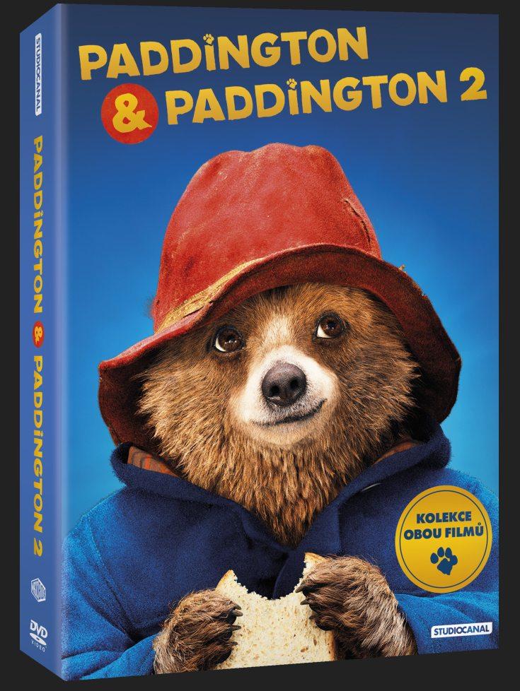 Paddington 1+2 kolekce DVD