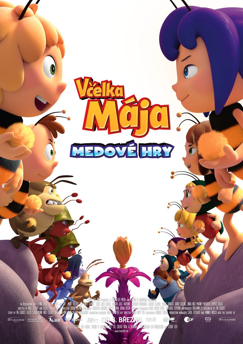 Včelka Mája: Medové hry - DVD