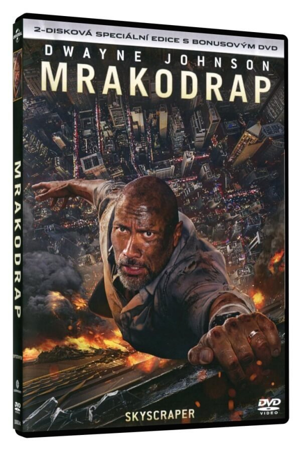 Mrakodrap (Speciální edice s bonusovým DVD) - 2DVD