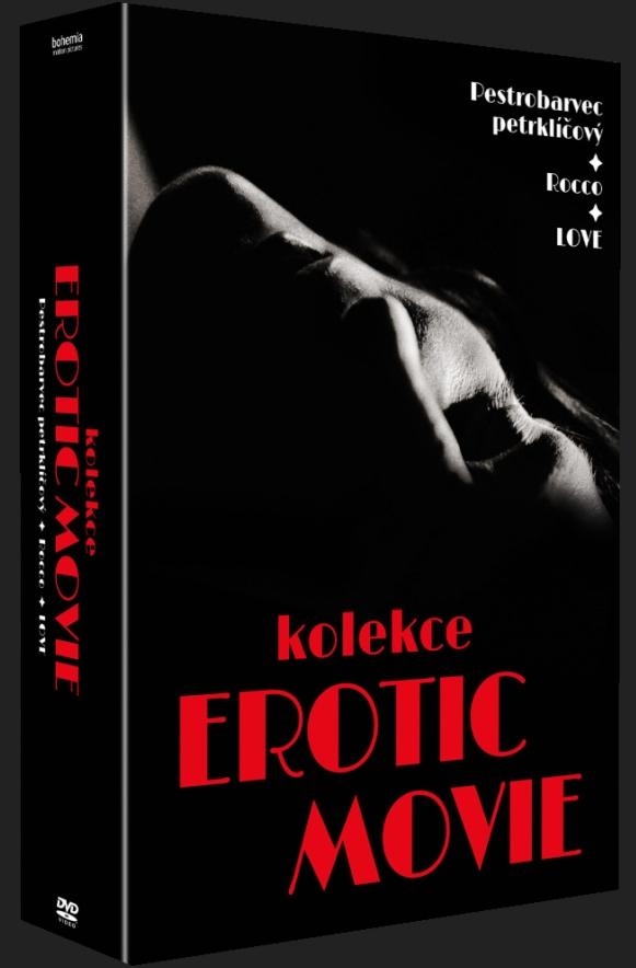 Erotic movie kolekce - 3DVD (Love, Rocco, Pestrobarvec Petrklíčový)
