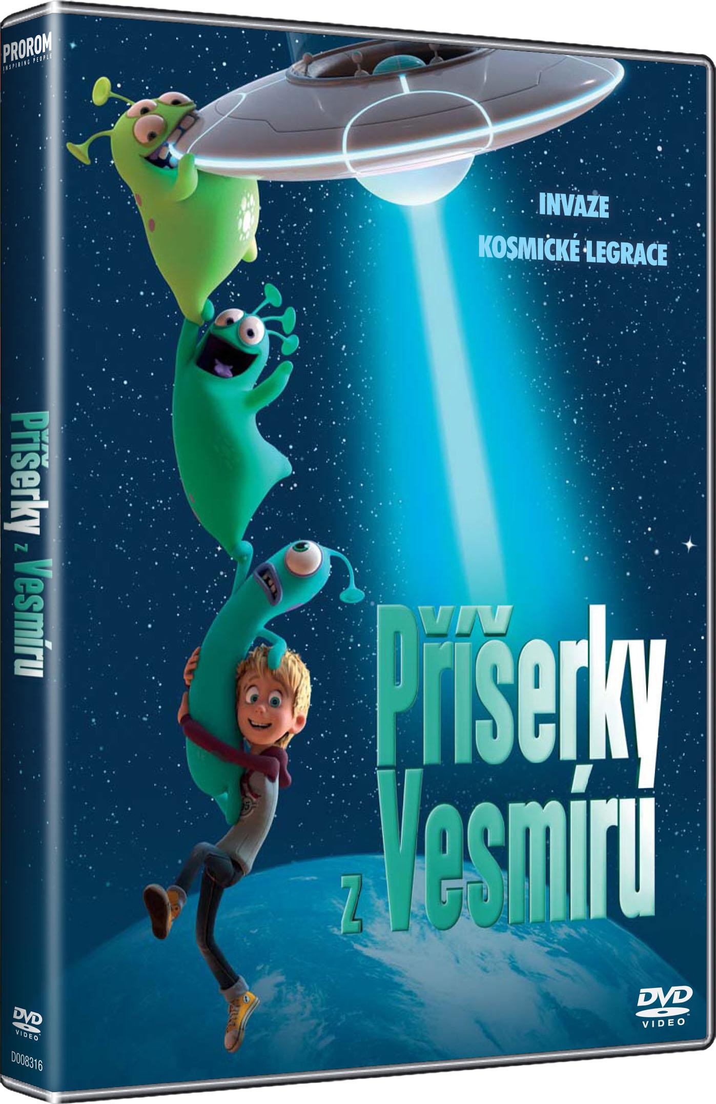 Příšerky z vesmíru - DVD