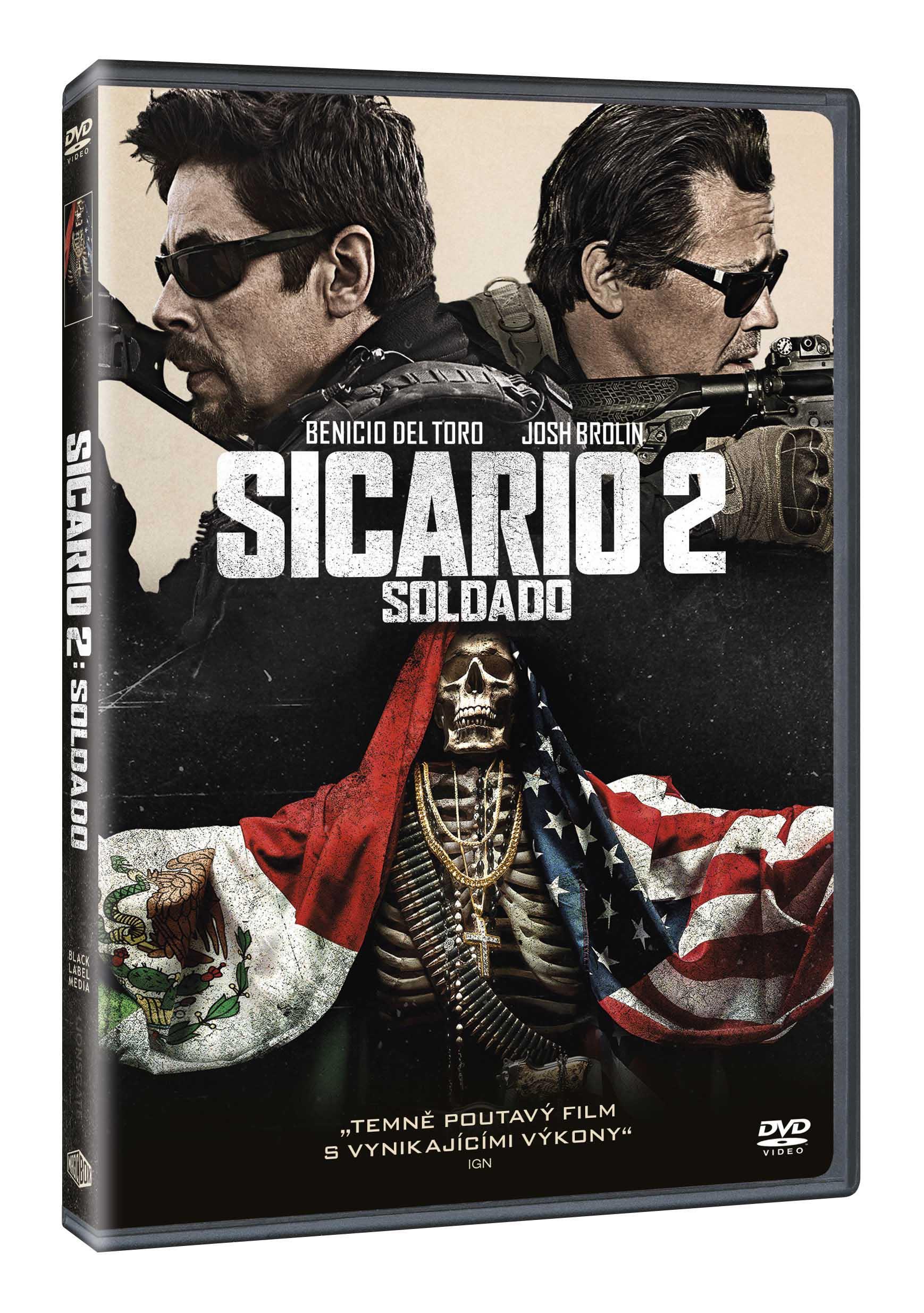 Sicario 2: Soldado - DVD
