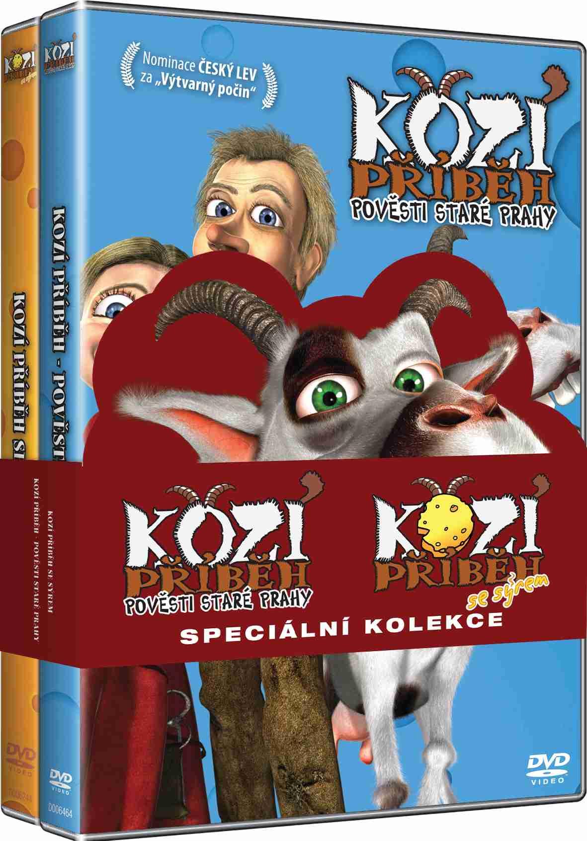 Kozí příběh Kolekce - 2 DVD (Pověsti staré Prahy, Kozí příběh se sýrem)