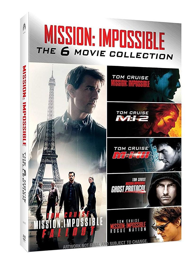 MISSION: IMPOSSIBLE 1-6 KOLEKCE - 6 DVD