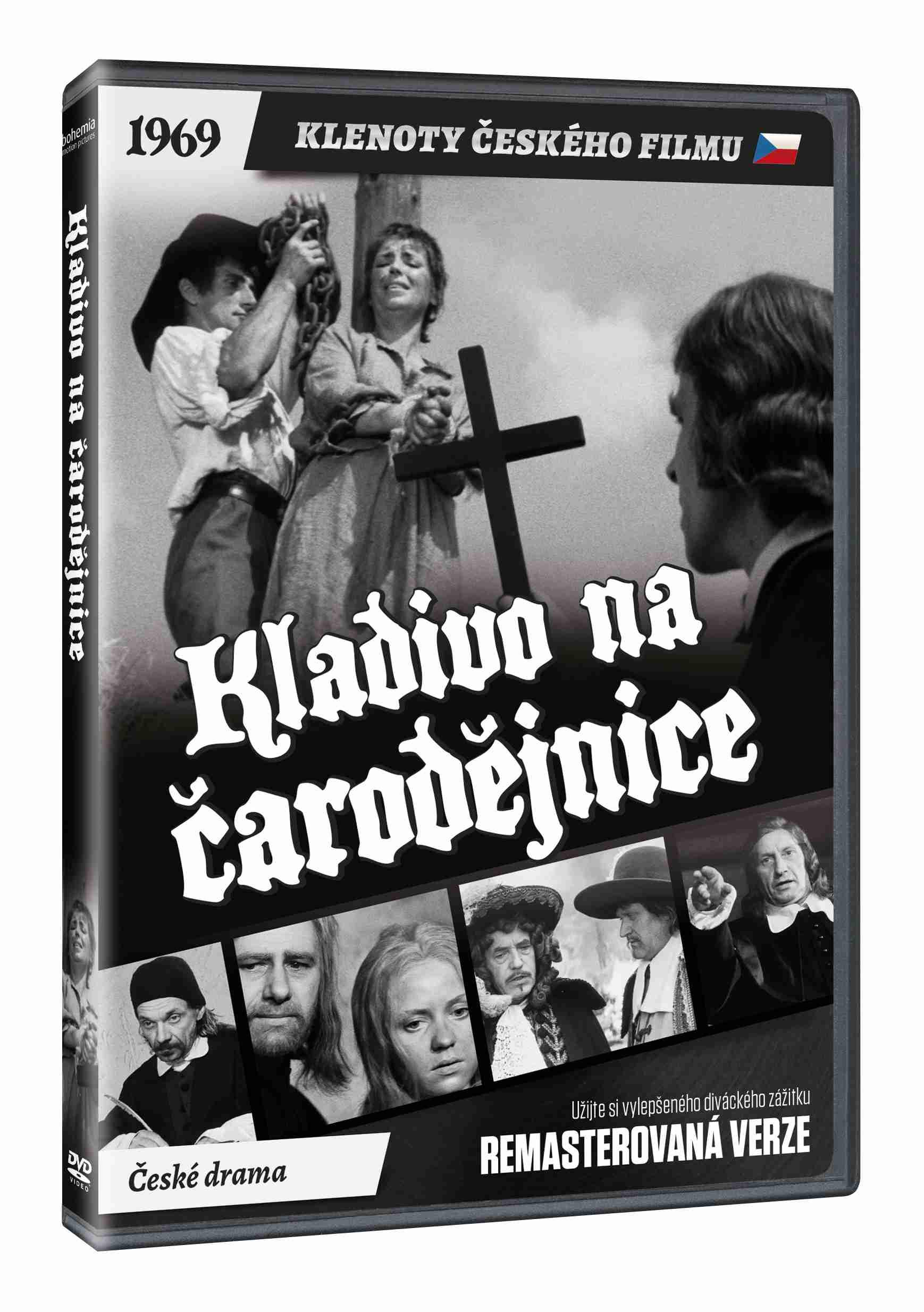 Kladivo na čarodějnice - DVD (remasterovaná verze)