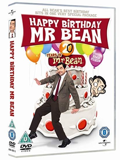 Všechno nejlepší, pane Beane (Happy Birthday Mr Bean) - DVD