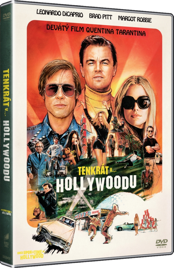 Tenkrát v Hollywoodu - DVD