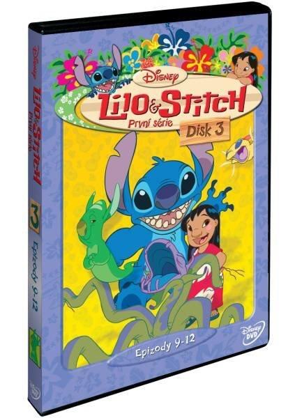 Lilo a Stitch 1. série - disk 3 - DVD
