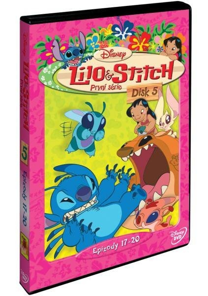 Lilo a Stitch 1. série - disk 5 - DVD