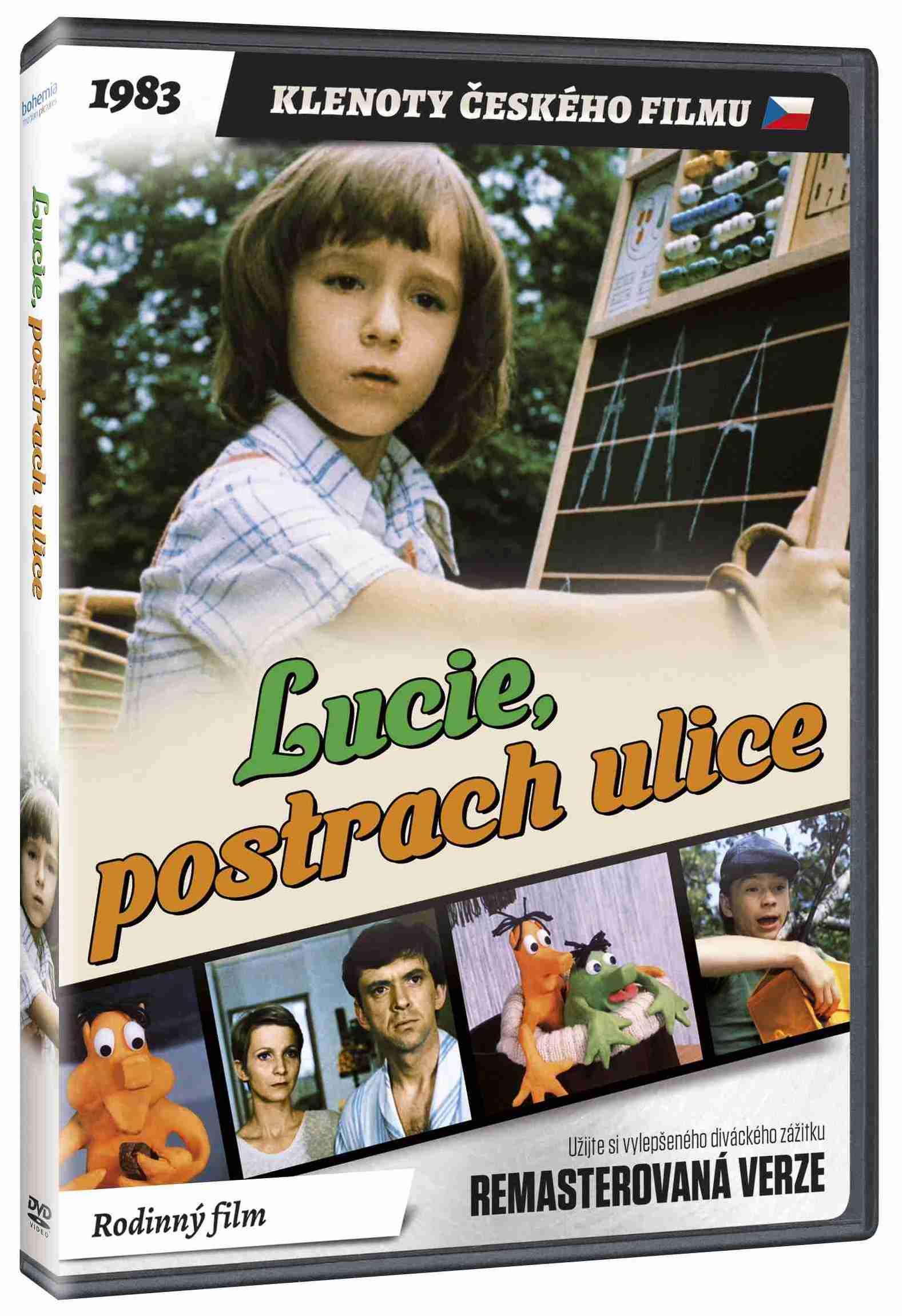 Lucie, postrach ulice (remasterovaná verze) - DVD