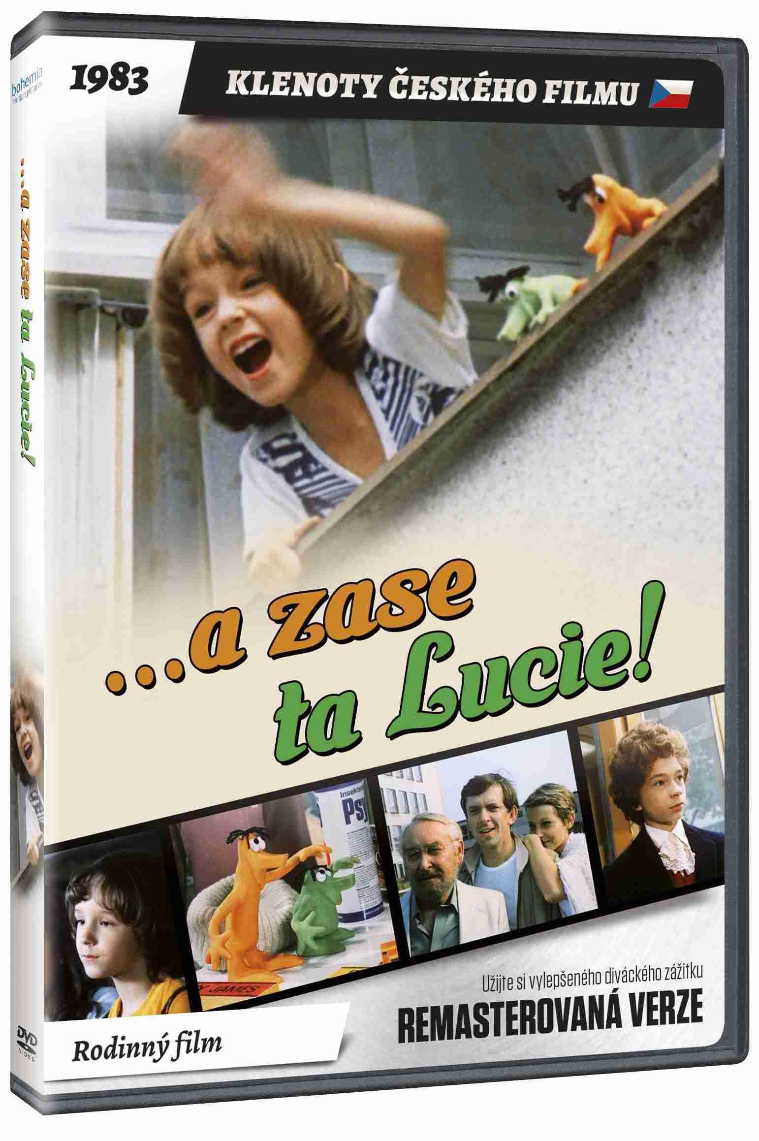 A zase ta Lucie! (remasterovaná verze) - DVD
