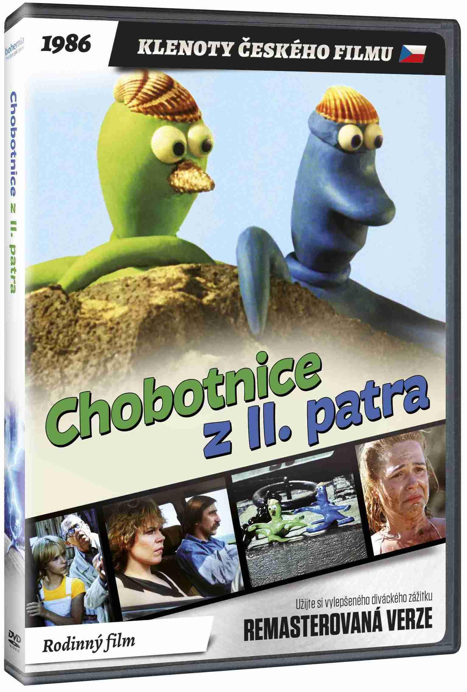 Chobotnice z II. patra (remasterovaná verze) - DVD