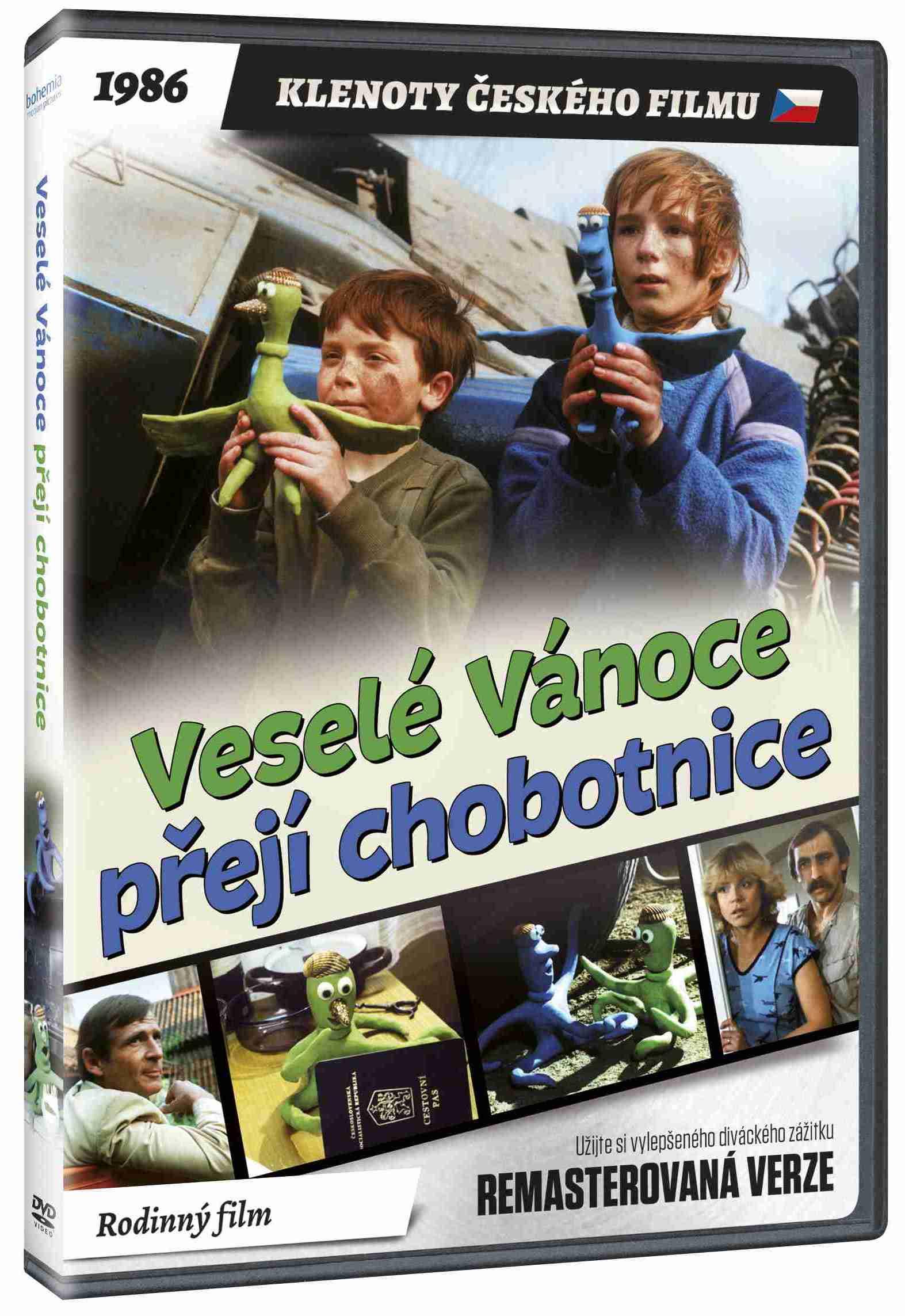 Veselé Vánoce přejí chobotnice (remasterovaná verze) - DVD