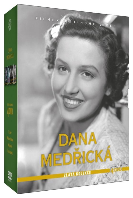 Dana Medřická – Zlatá kolekce - 4DVD