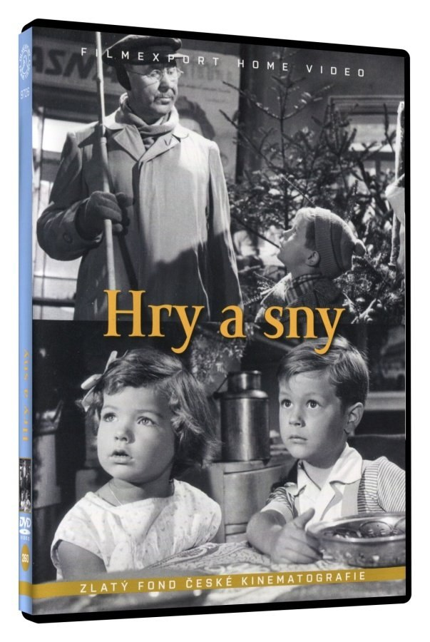 Hry a sny - DVD digipack