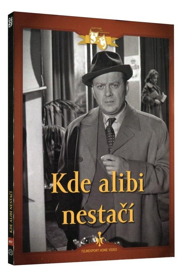 Kde alibi nestačí - DVD Digipack