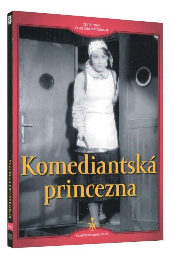 Komediantská princezna - DVD Digipack