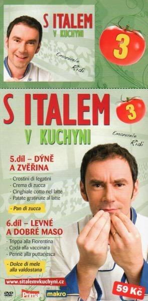 S Italem v kuchyni 3. - DVD pošetka