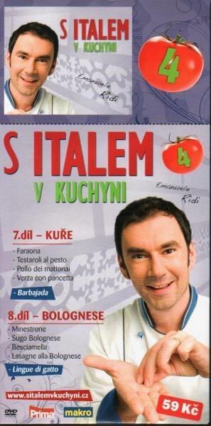 S Italem v kuchyni 4. - DVD pošetka