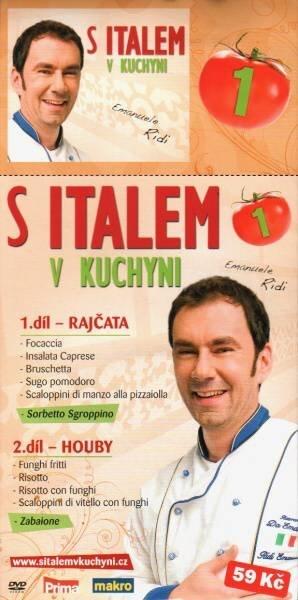 S Italem v kuchyni 1. - DVD pošetka