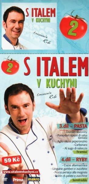 S Italem v kuchyni 2. - DVD pošetka