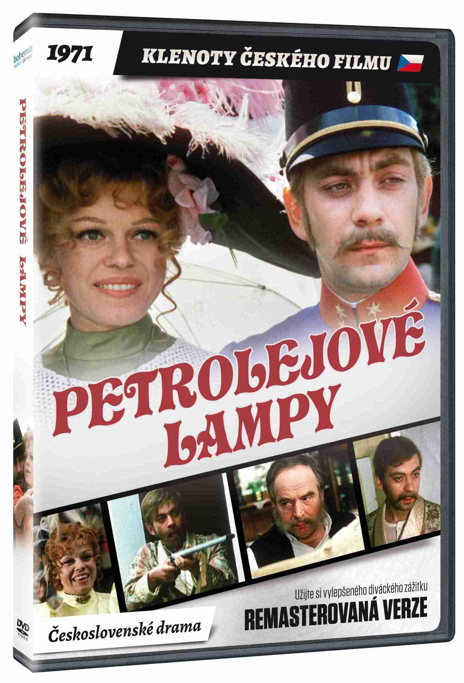 Petrolejové lampy - DVD (remasterovaná verze)