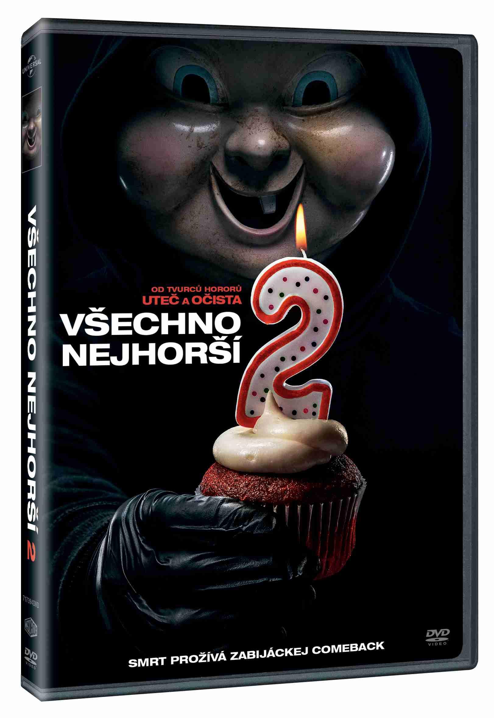 Všechno nejhorší 2 - DVD