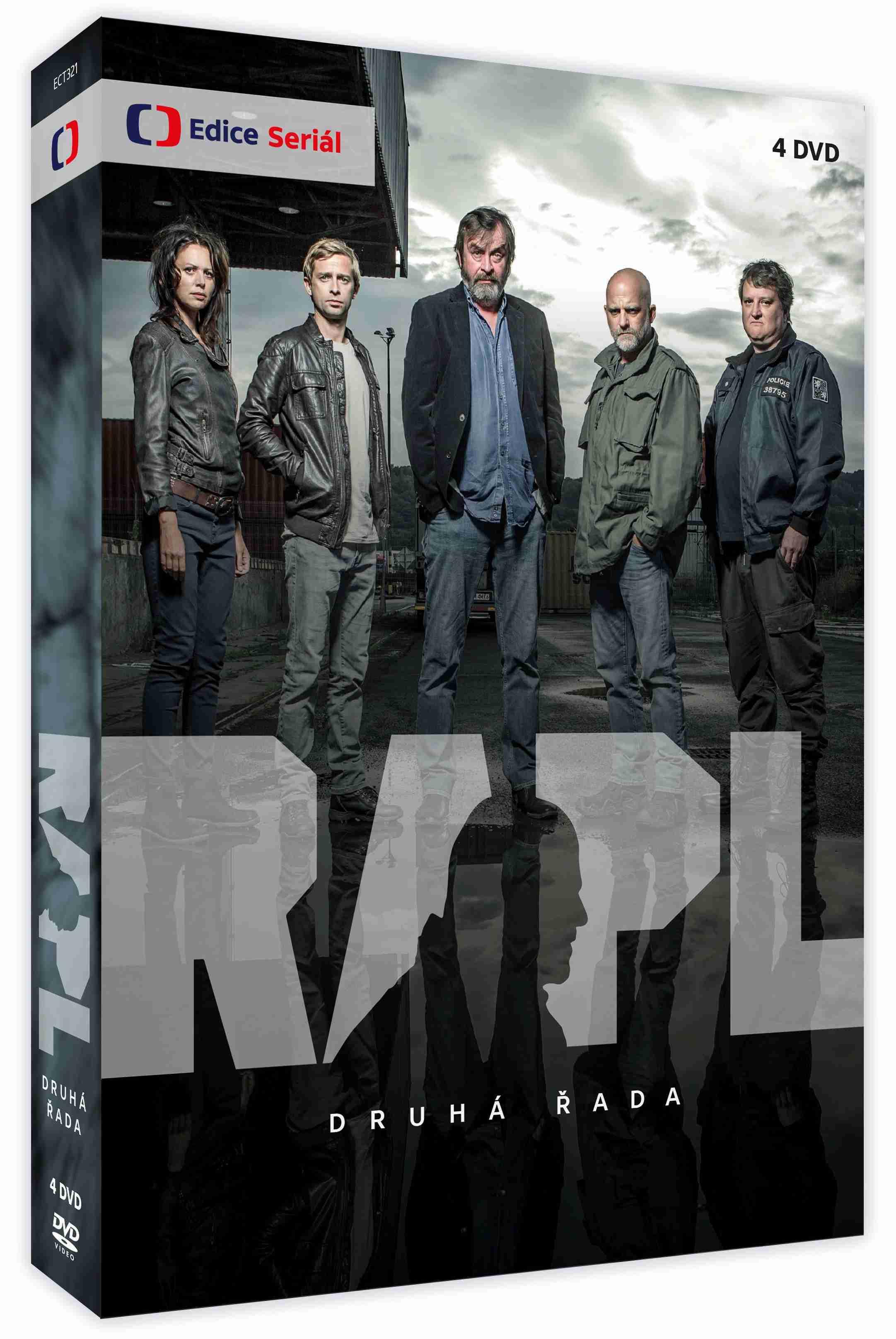 Rapl 2. série - 4 DVD