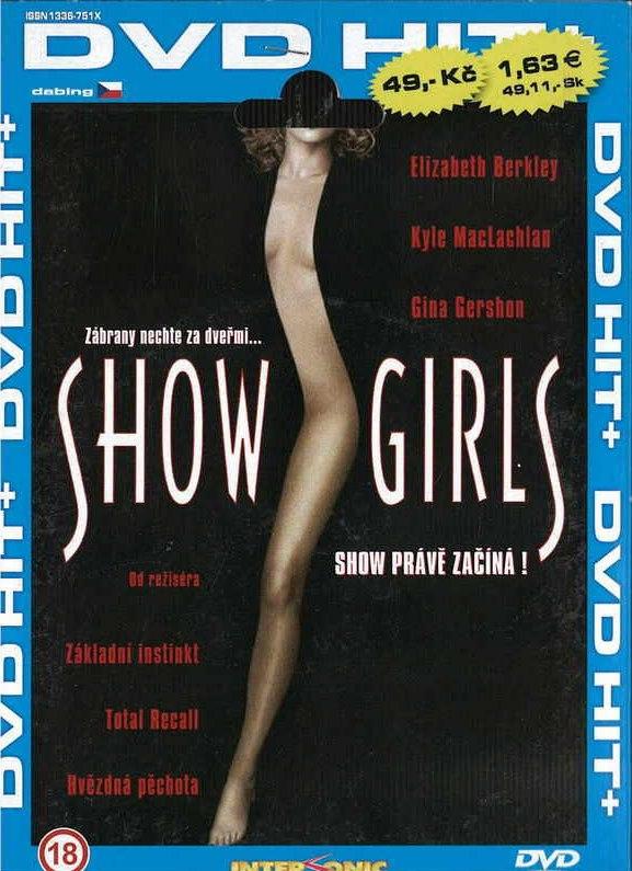ShowGirls - DVD pošetka
