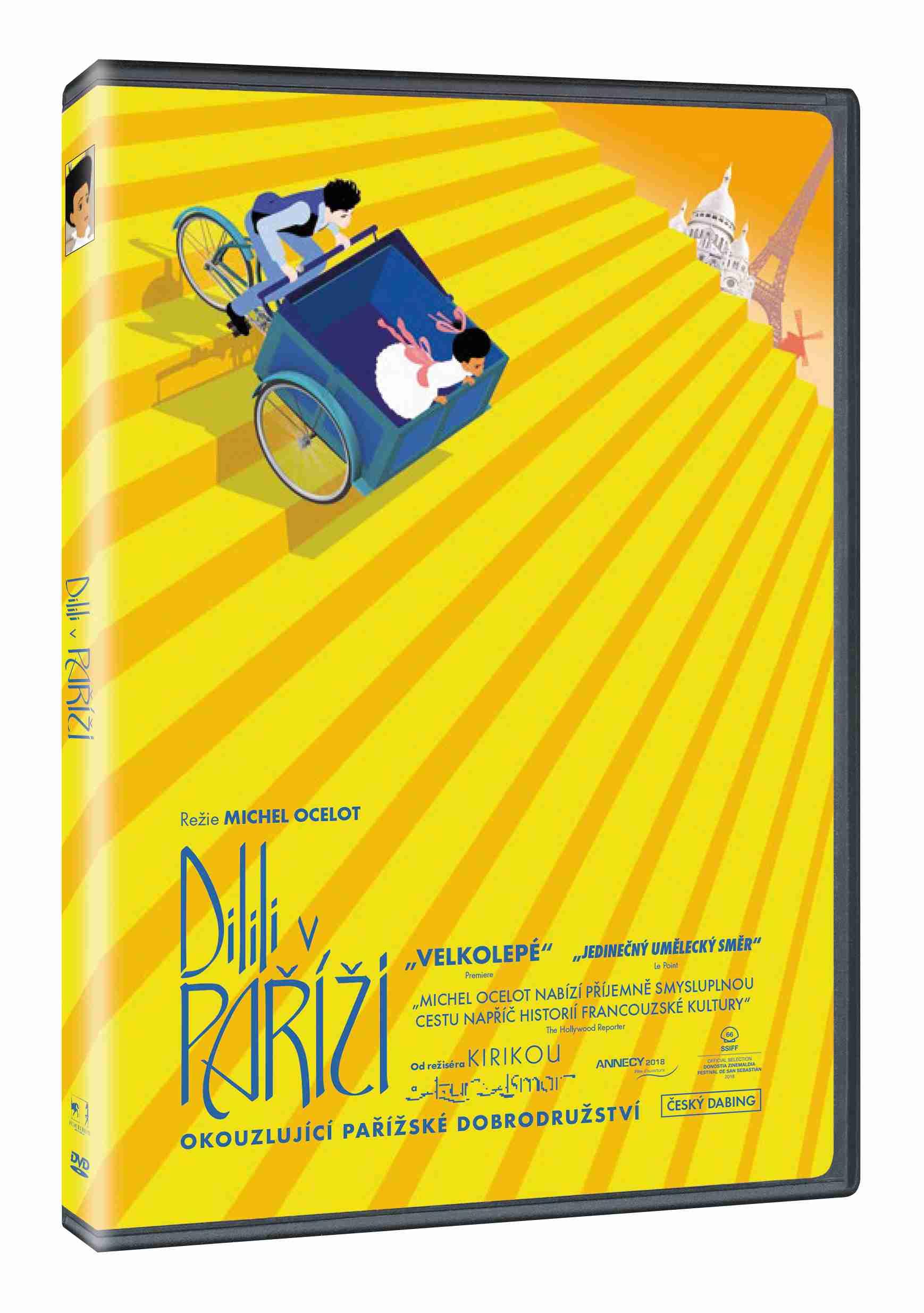 Dilili v Paříži - DVD