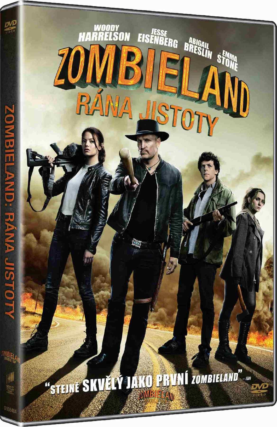 Zombieland: Rána jistoty - DVD