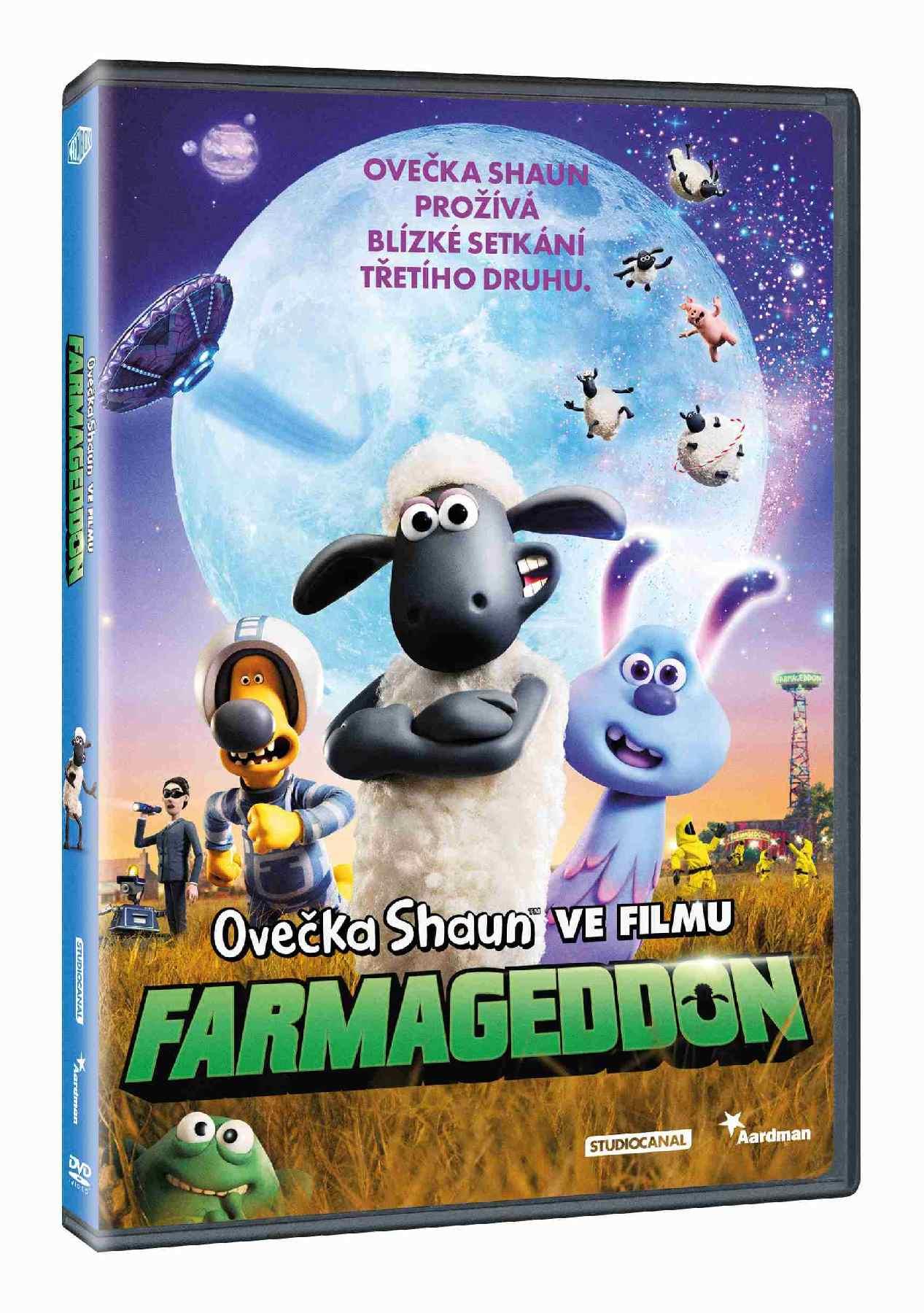 Ovečka Shaun ve filmu: Farmageddon - DVD