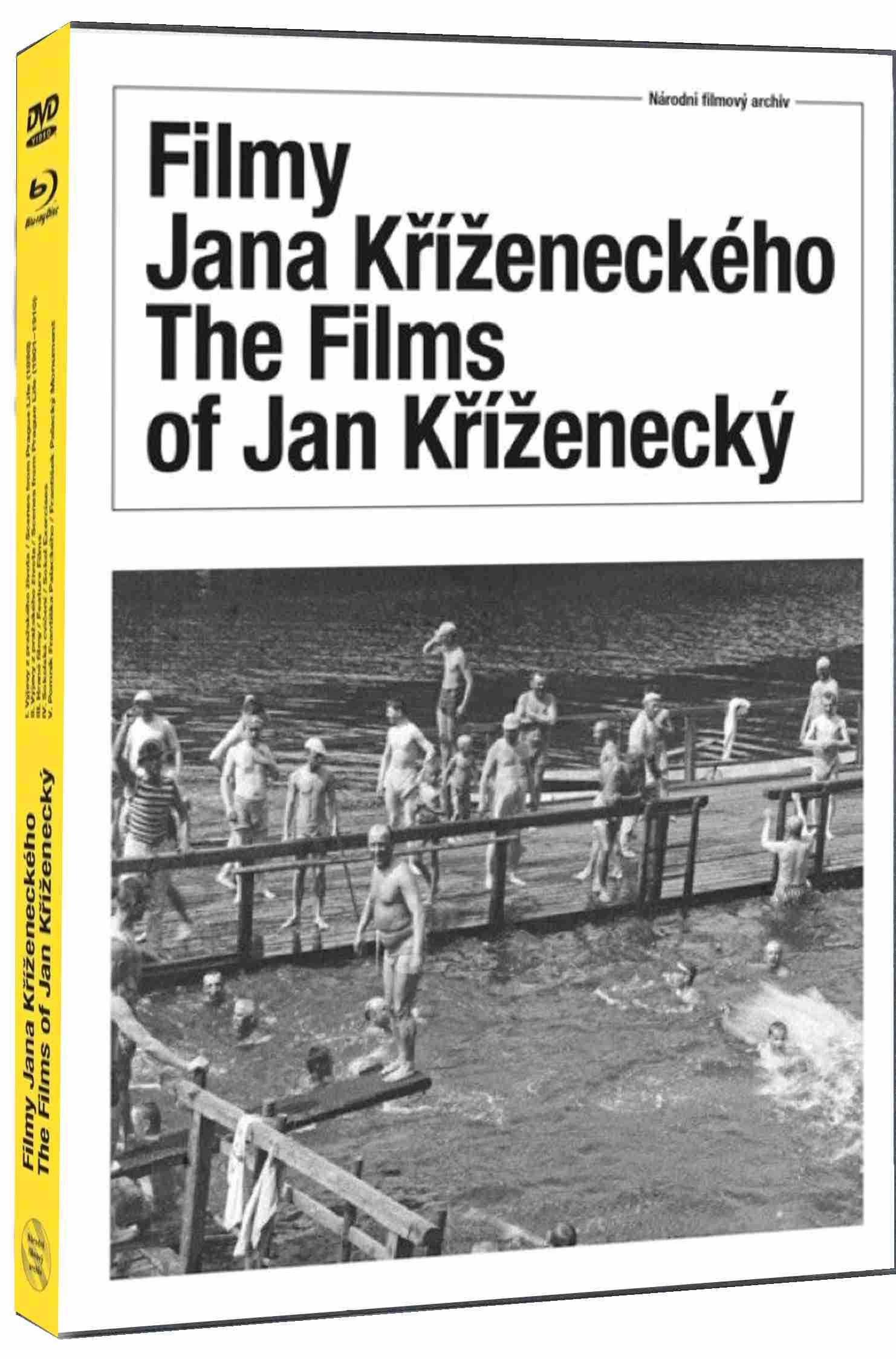 Filmy Jana Kříženeckého - Blu-ray + DVD