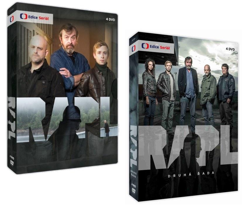 Rapl 1 + 2 kolekce DVD
