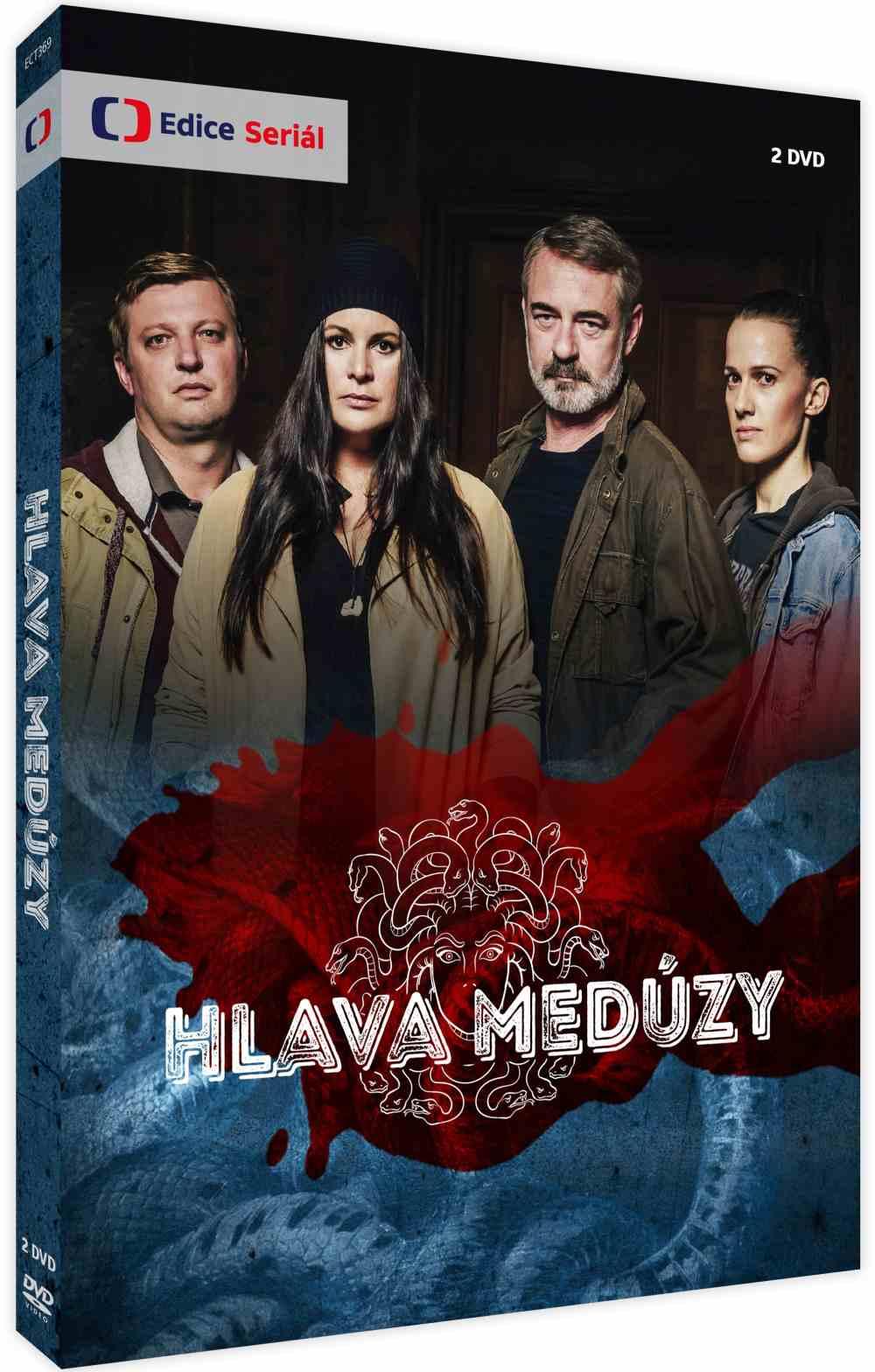 Hlava medúzy - 2 DVD