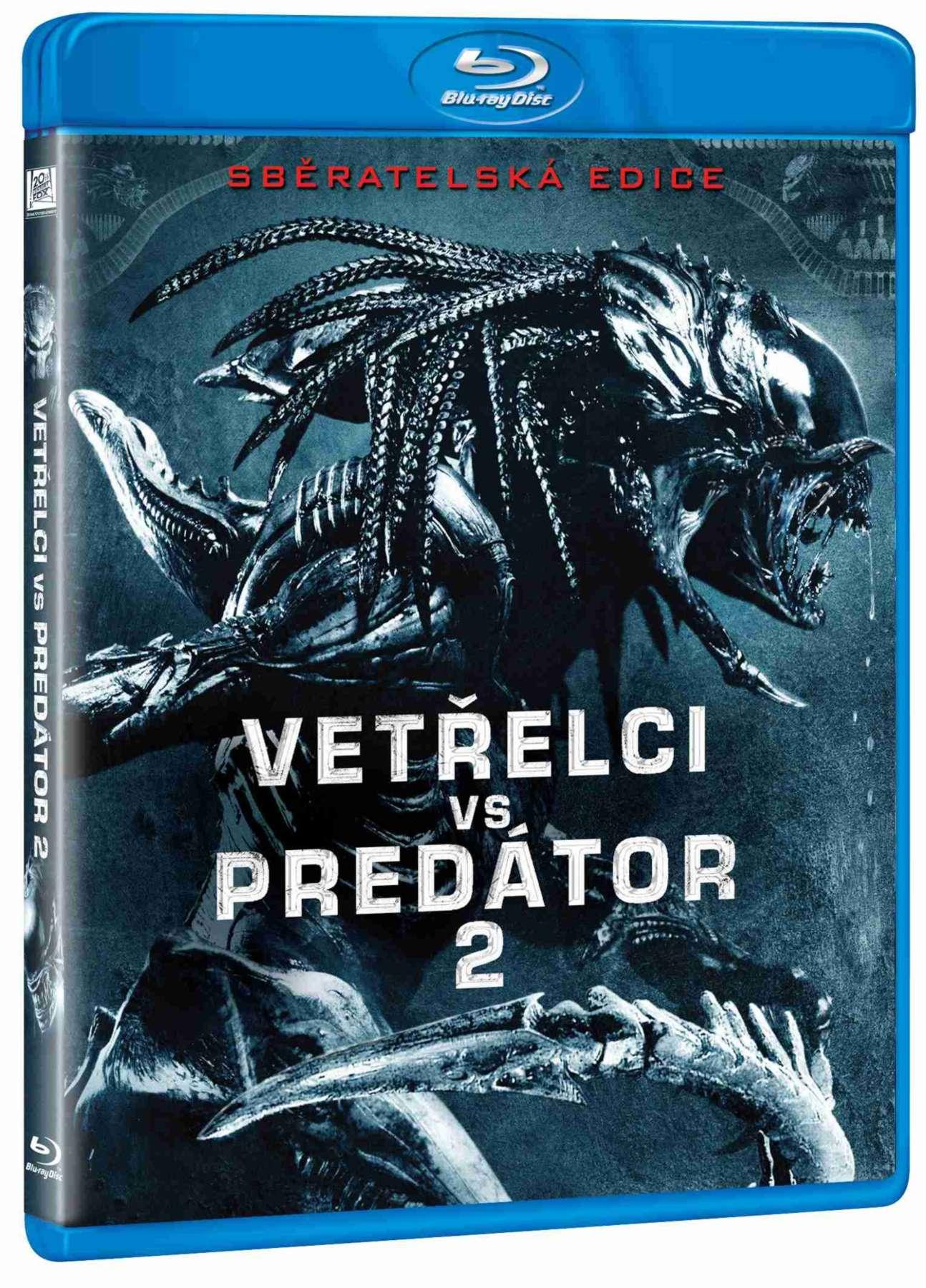 VETŘELCI VS PREDÁTOR 2 - Blu-ray