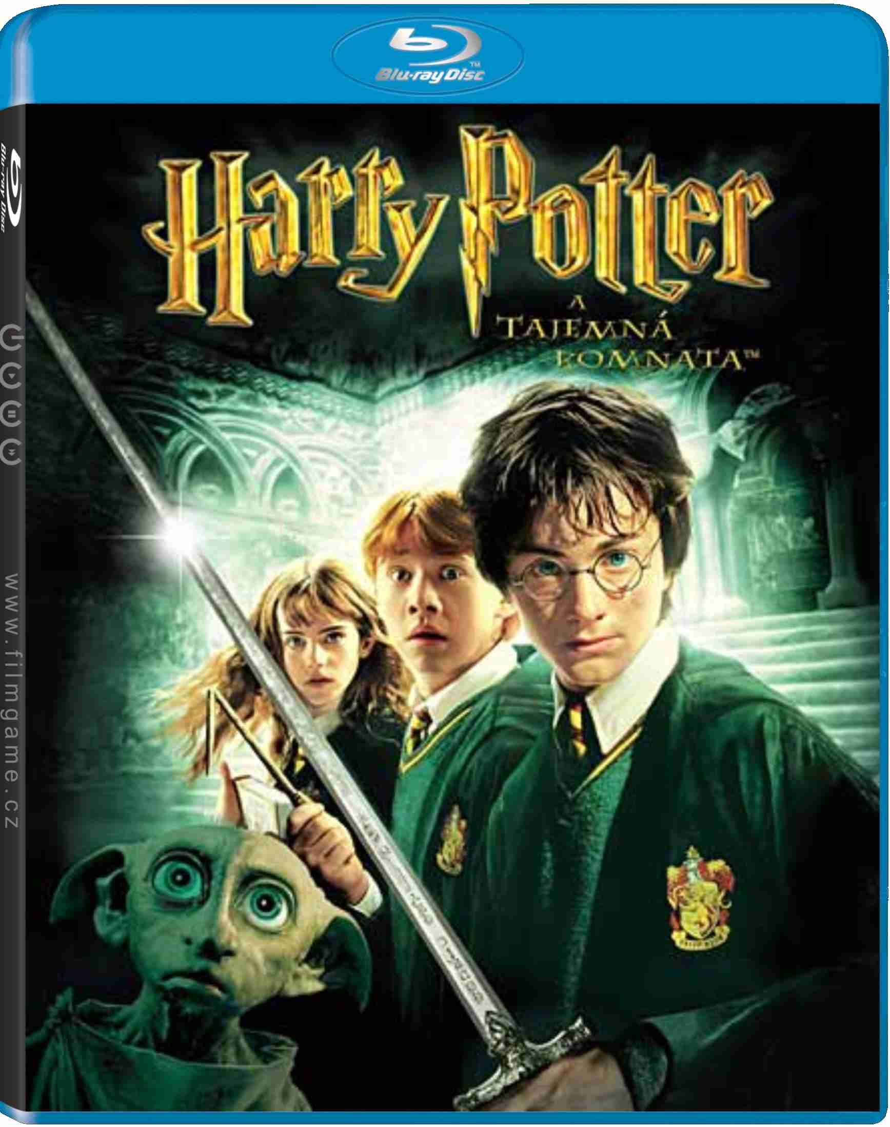HARRY POTTER A TAJEMNÁ KOMNATA - Blu-ray
