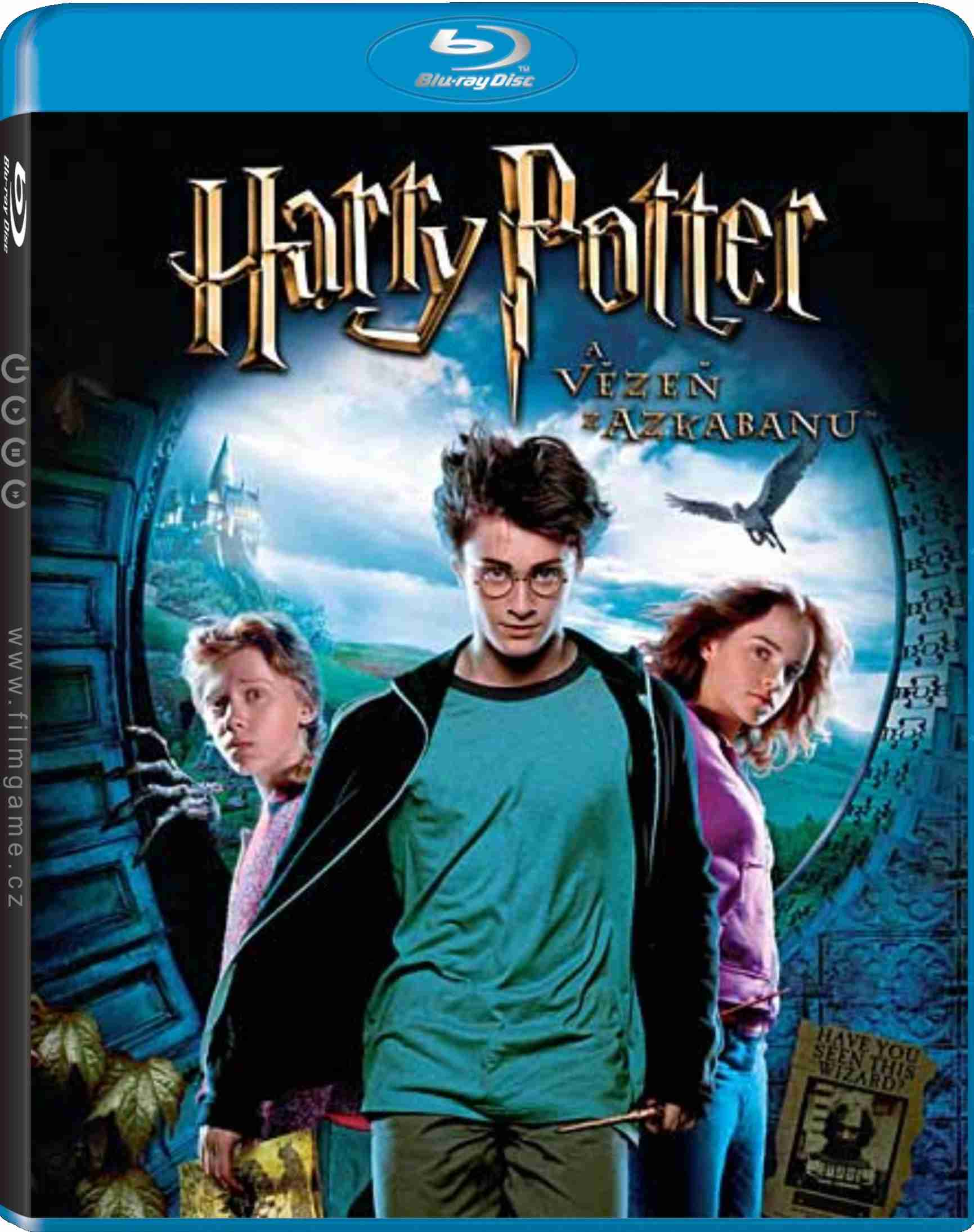 HARRY POTTER A VĚZEŇ Z AZKABANU - Blu-ray