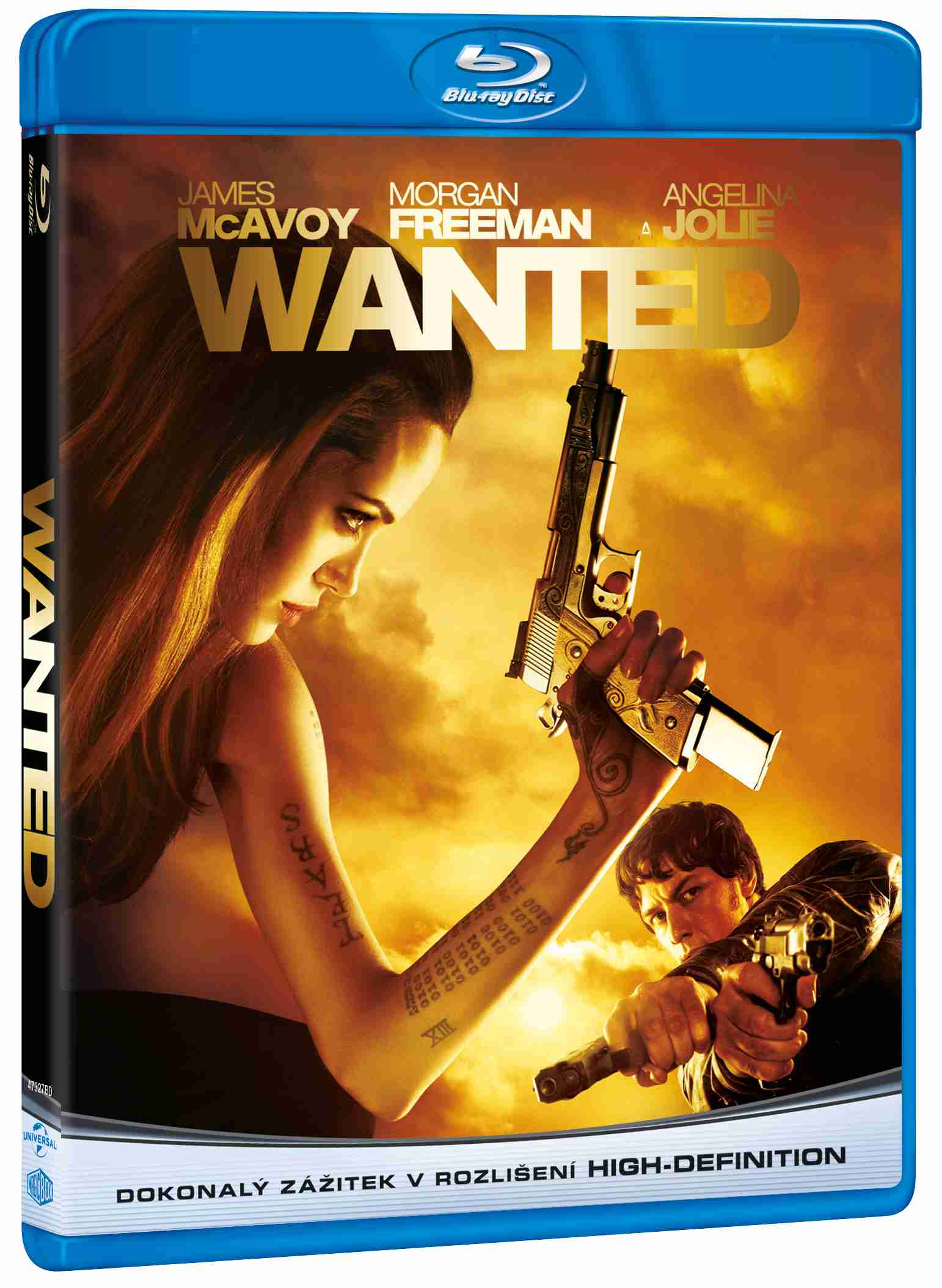 WANTED - Blu-ray