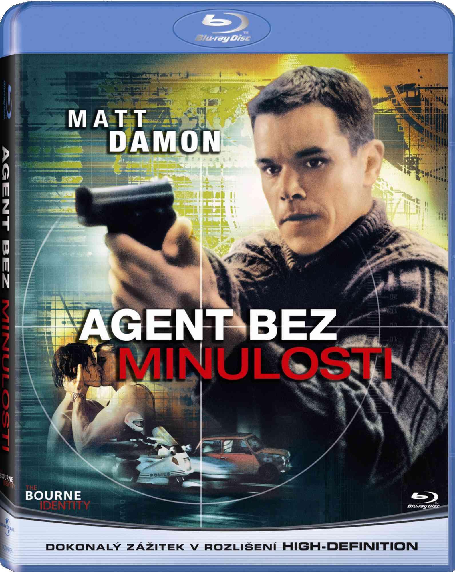 AGENT BEZ MINULOSTI - Blu-ray