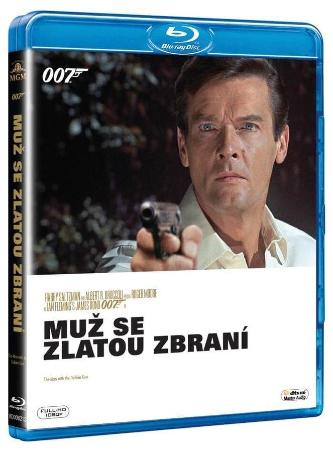 BOND - MUŽ SE ZLATOU ZBRANÍ - Blu-ray