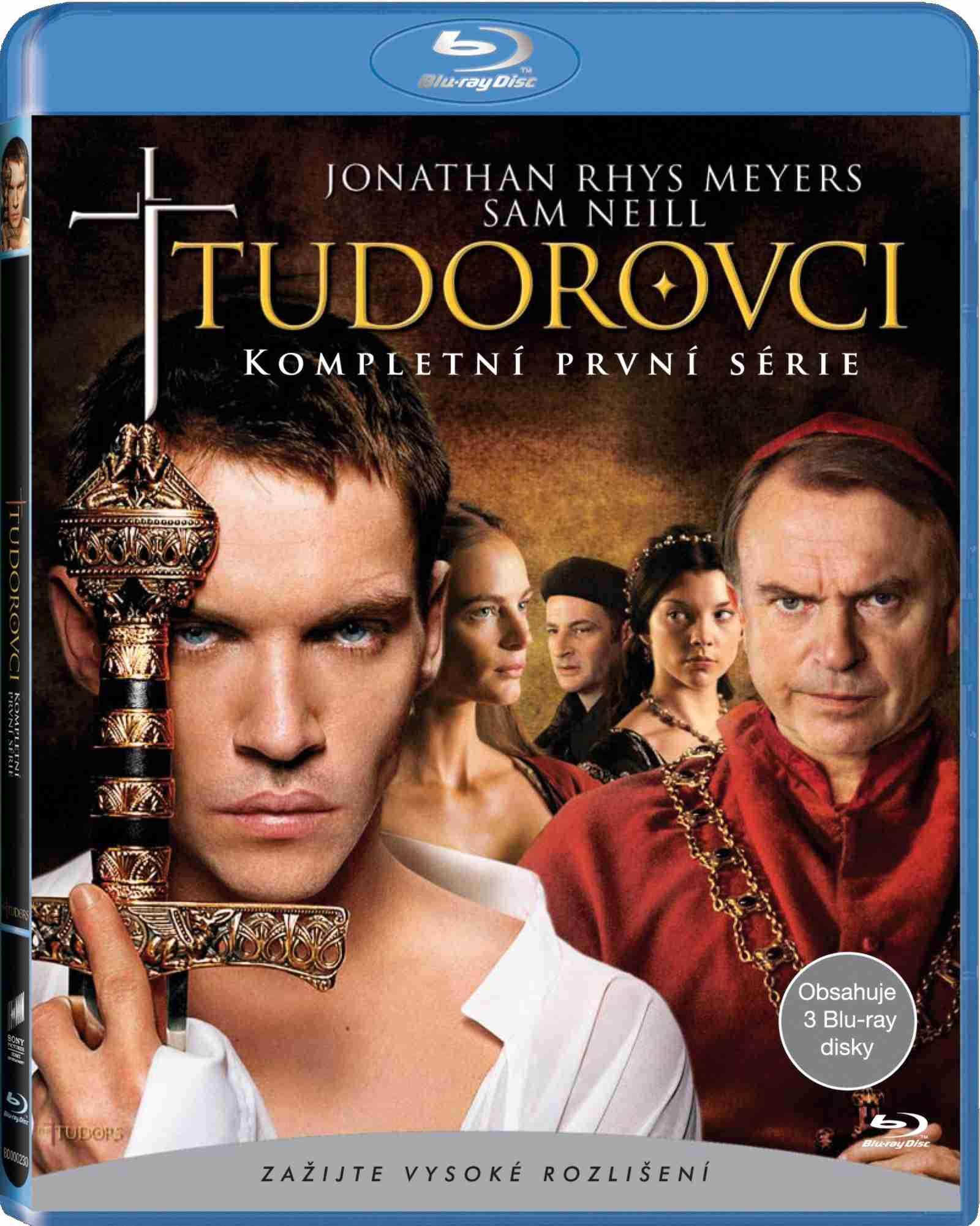 TUDOROVCI 1.SÉRIE - Blu-ray