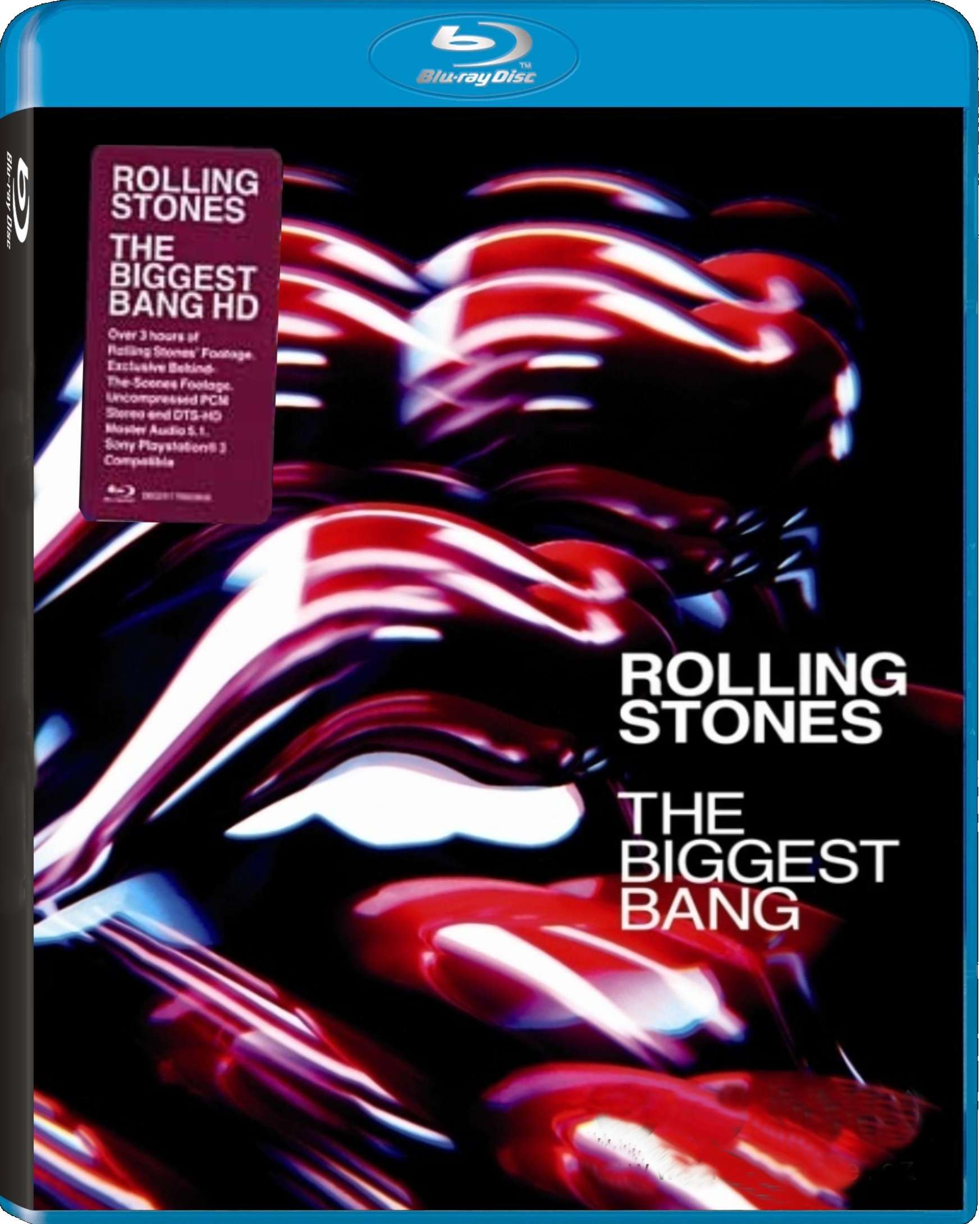 ROLLING STONES - THE BIGGEST BANG - Blu-ray