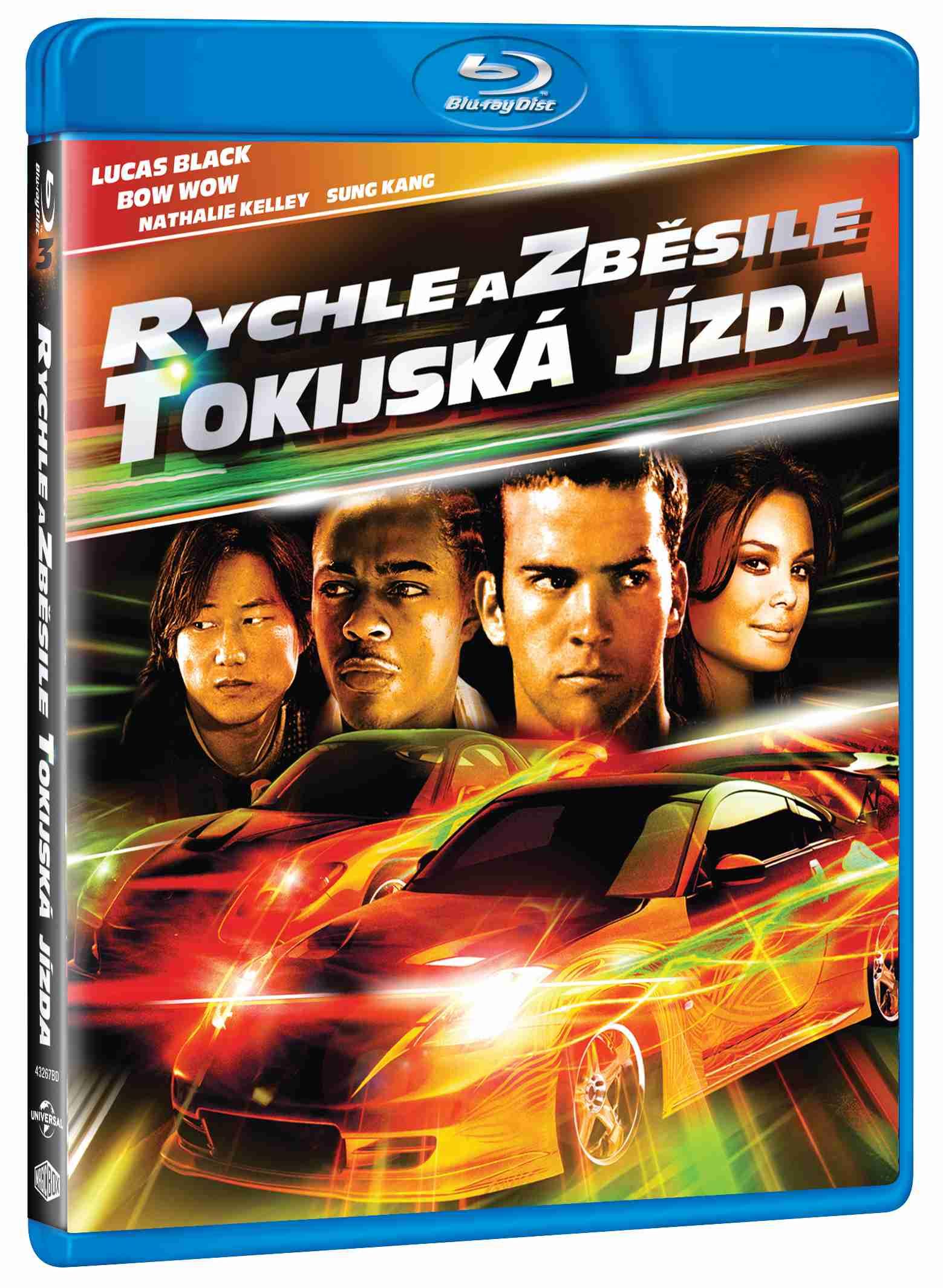 Rychle a zběsile 3: Tokijská jízda - Blu-ray
