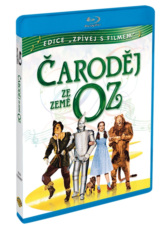 ČARODĚJ ZE ZEMĚ OZ: EDICE ZPÍVEJ S FILMEM - Blu-ray