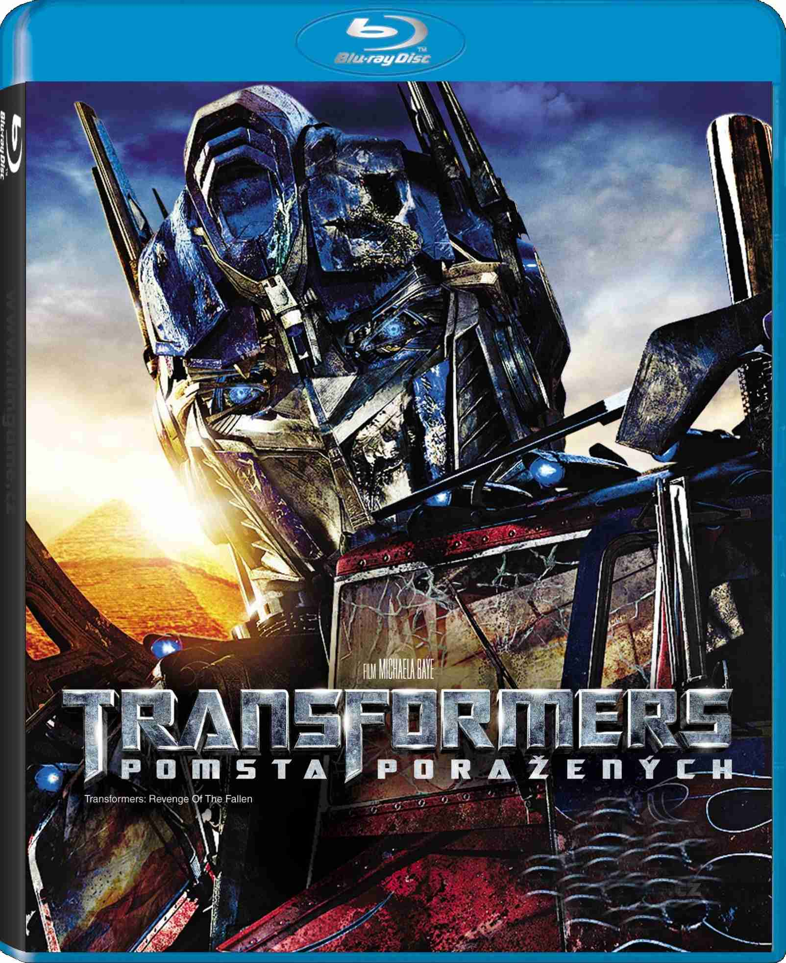 TRANSFORMERS: POMSTA PORAŽENÝCH - Blu-ray