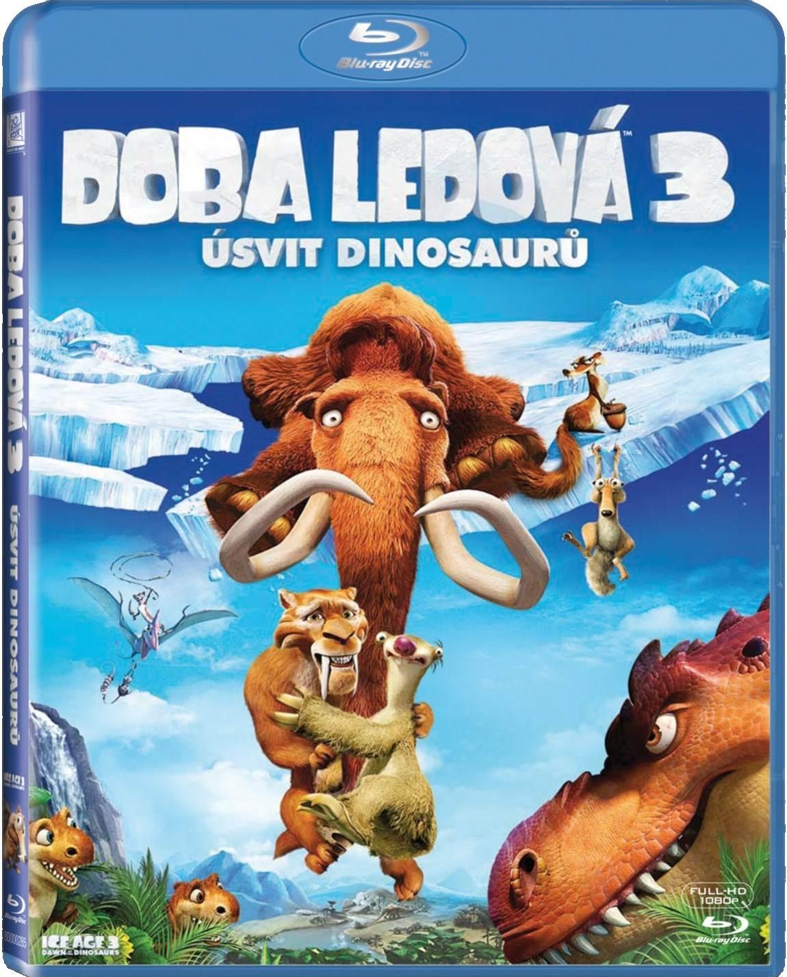 DOBA LEDOVÁ 3: ÚSVIT DINOSAURŮ - Blu-ray