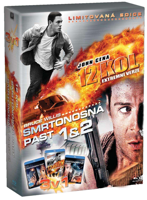 12 KOL + SMRTONOSNÁ PAST 1 & 2 - Blu-ray