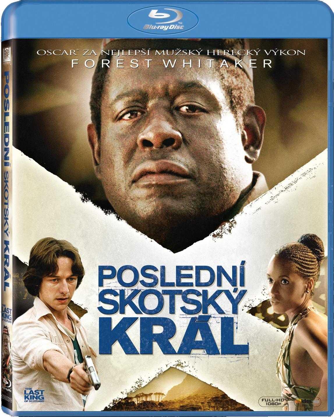 POSLEDNÍ SKOTSKÝ KRÁL - Blu-ray