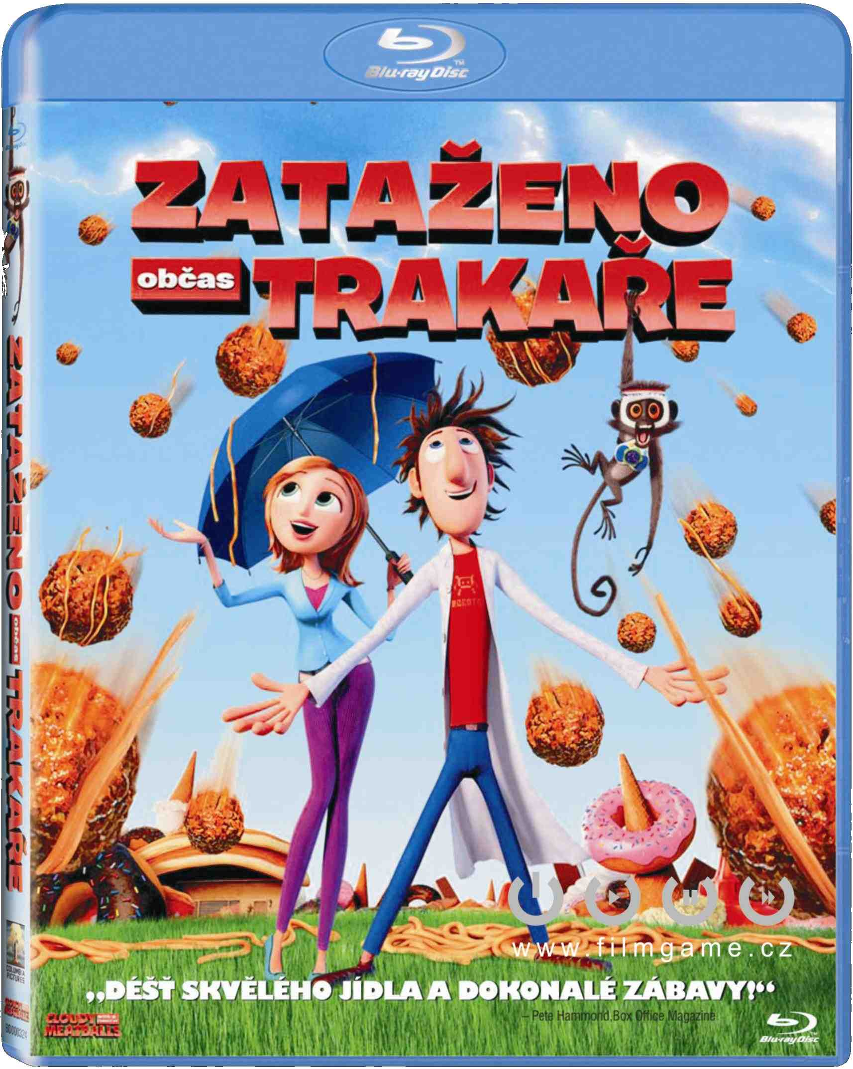 ZATAŽENO, OBČAS TRAKAŘE - Blu-ray